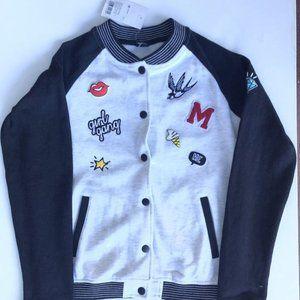 Brand new OSTIN Girl Gang warm bomber girl jacket